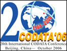 20th CODATA International Conference 2006